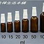 【佳樺生活本舖】德國製茶色精油噴瓶(白噴頭...