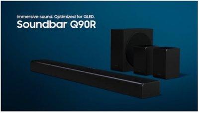 歲末免運❗️三星Samsung HW-Q90R 7.1.4 Soundbar/Q80R 聲霸劇院 杜比環繞/DTS 面交