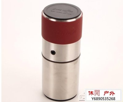 休閒1號·新款便攜式多功能四合一不銹鋼磨豆機沖泡手沖咖啡手動磨粉機旅行YXS