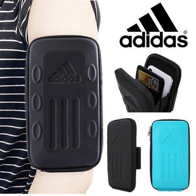 阿迪達斯跑步手機通用臂包男女通用運動臂套 騎行健身臂包手機包OPPO三星蘋果X臂帶手腕袋iPhone7/8plus 6s