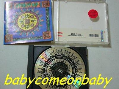 舊CD 英文合輯 STIR IT UP 精選12首 (進口版專輯) 保存良好99%無刮傷近全新