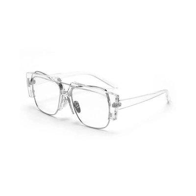 【Result】質感透明多層次眼鏡 Hiphop 附鏡盒