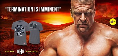 ☆阿Su倉庫☆WWE Triple H Termination is Imminent T-Shirt 窮途末路絕版款