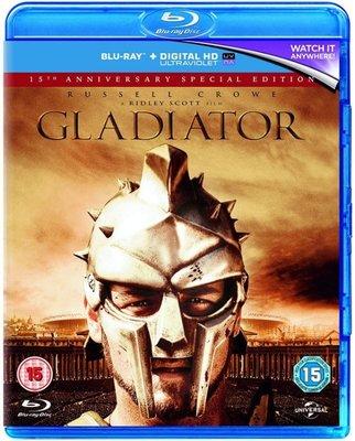 BD 全新英版【神鬼戰士】【Gladiator】Blu-ray 藍光