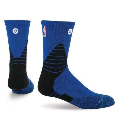 現貨 size:M NBA Stance 359 Solid Quarter Crew 藍色 球員版 低筒襪 kobe LEBRON JORDAN