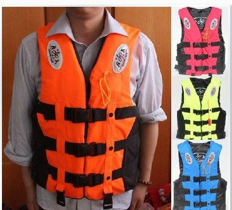 專業救生衣成人兒童釣魚服浮潛遊泳船用漂流背心馬甲潛水