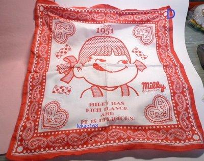 不二家牛奶妹Peko食玩付的大方巾手帕 D 組  [ 私人收藏出清中 ]