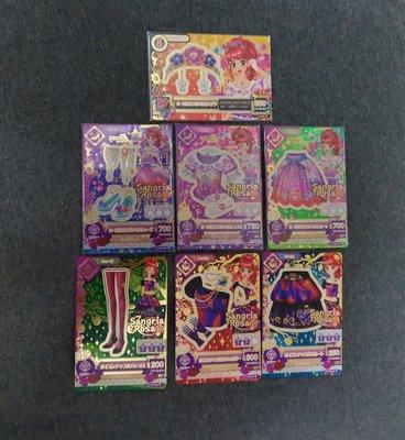 Aikatsu 偶像學園 第三季第二彈 紅林珠璃 玻璃公主 02-26 15 02-27 15 02-28 02-29 贈送毒蘋果套裝
