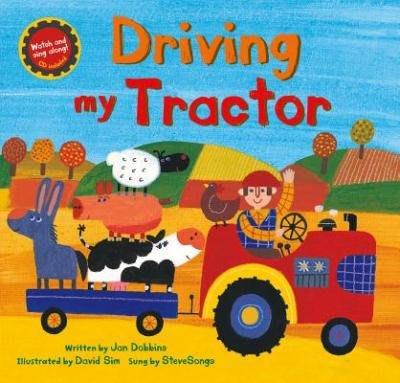 *小貝比的家* [聽‧聲音的趣味學習 ]  DRIVING MY TRACTOR/平裝書+VCD/3~6歲/歌唱繪本