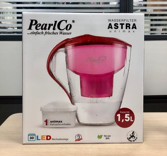 【油樂網】德國PearlCo 波爾德 ASRA UNIMAX LED 濾水壺 3L