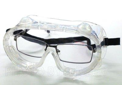 【米勒線上購物】護目鏡 502 安全護目鏡 強化防霧片 可和近視眼鏡同時配戴 CE166 ANSI Z87+