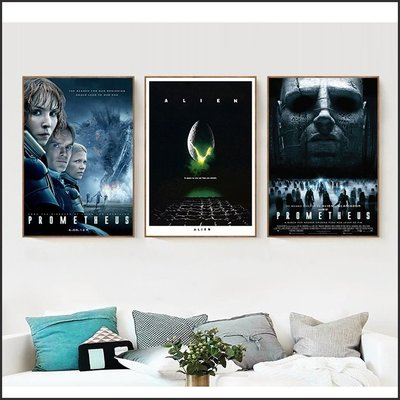 異形 Alien 普羅米修斯 Prometheus 電影海報 藝術微噴 掛畫 嵌框畫 @Movie PoP 多款海報~