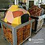 柴燒 麵包 窯烤爐 烤爐 露營 戶外 披薩 休閒 移動式窯烤爐