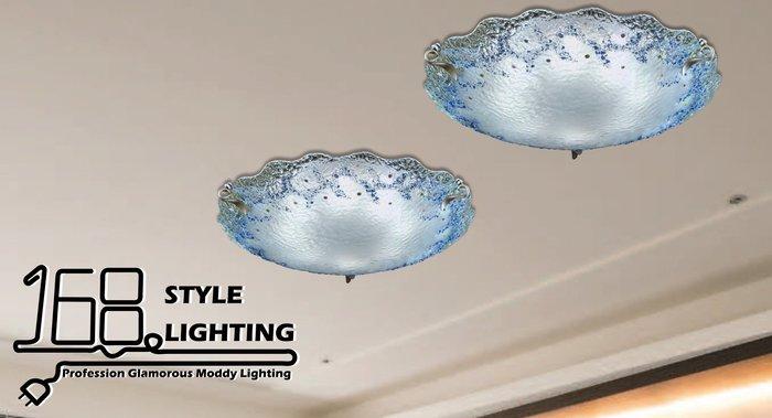 【168 Lighting】雪花飄動《居家吸頂燈》(兩款)八燈款GI 71395-3