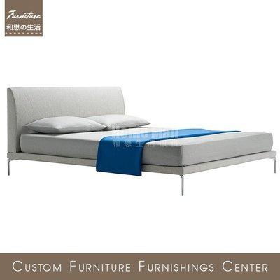 HOME MALL~100%台灣製床頭片//床組 TALAMO BED複刻款 量身訂製 下單製作 可選皮/選布 歡迎詢問