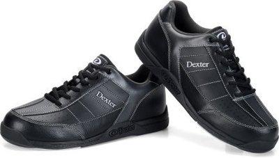 【方正保齡球】Dexter Ricky III Bowling Shoes 保齡球鞋【左右手都可穿】【現貨供應】【黑】