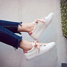 2018春季新款百搭絲帶小白鞋女韓版平底板鞋學生休閑白鞋透氣女鞋