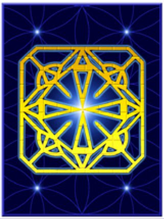 [心靈之音] #143 聖殿騎士徽章(團結、和平、和諧)TEMPLAR INSIGNIA-能量催化圖-美國進口中文說明
