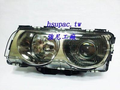 ☆☆☆強尼工廠☆☆☆全新BMW E38 小改款 原廠氙氣HID沿用 投射魚眼大燈 99 00 01 02年 台北市