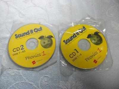 【金玉閣5-3】兒童CD~Sound it out phonics1 (CD1.2)....LiveABC