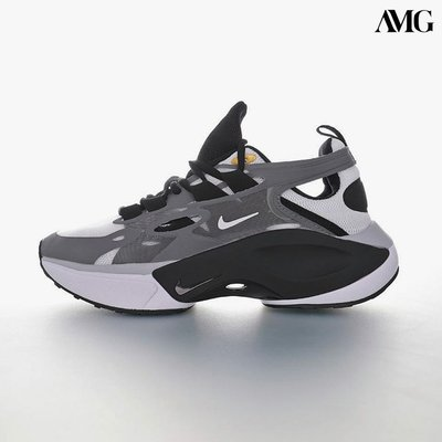 NIKE SIGNAL D/MS/X 邂逅系列休閒運動老爹風慢跑鞋「深灰黑白」AT5303-126