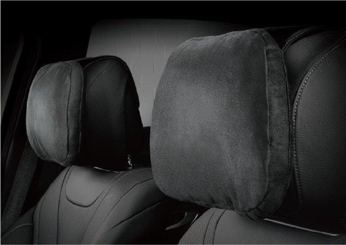 3D 卡固 全車係 通用 Jaguar 捷豹 麂皮絨 舒適 頭枕 氣室回彈 舒適釋壓 黑 灰 米 三色可選