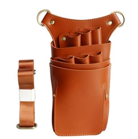 理發美發剪刀腰包挎包美發工具多功能寵物剪子包