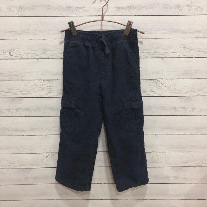 Maple麋鹿小舖 美國購買童裝品牌 GYMBOREE 男童深藍色條絨長褲 * ( 現貨3T/4T )