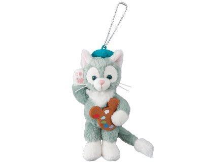 ♡歐日美加 LuLu代購♡ 東京迪士尼海洋 限定畫家貓 Gelatoni傑拉東尼 彩色調色盤 站姿 現貨