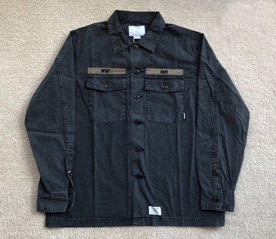 【c select】Wtaps  18SS 兩袋 BUDS LS 蠟染 水洗 工裝 夾克 襯衫 descendant