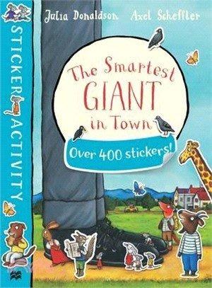*小P書樂園* The Smartest Giant in Town Sticker Book