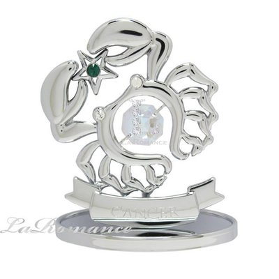 【芮洛蔓 La Romance】Riserva 水晶星座飾品 - 巨蟹座 (銀)