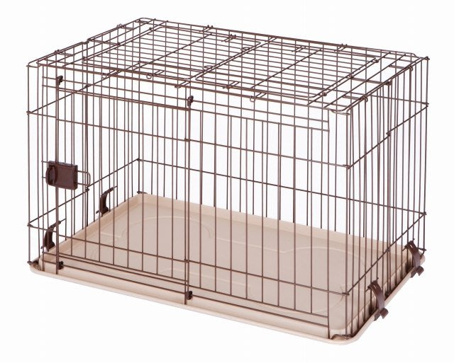 COCO【免運費】Marukan可上開狗屋DP-462滑門式+上開式狗籠/簡單組裝/好收納