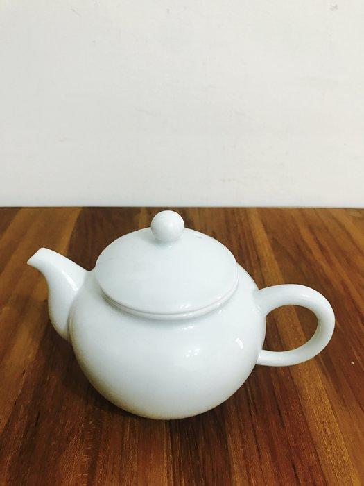 天使熊雜貨小舖~鶯歌白瓷泡茶壺 7孔出水 全新現貨 容量約200cc 普洱茶 烏龍茶泡茶利器