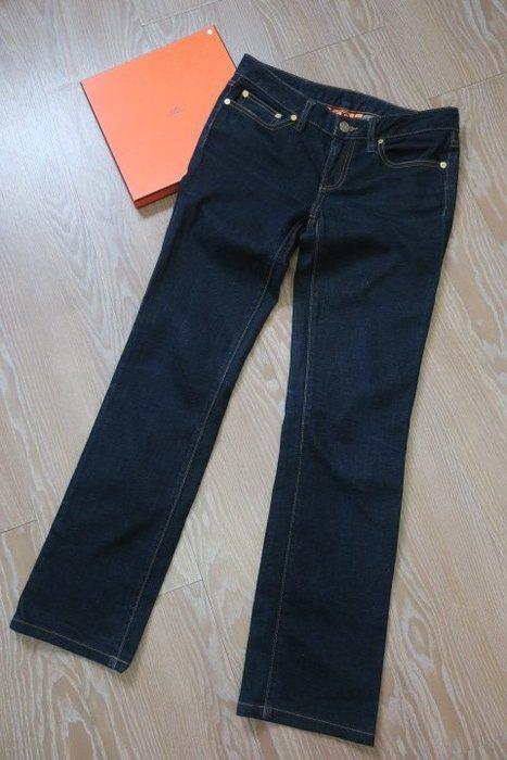 *beauty* TORY BURCH藍色牛仔長褲 25號 5000  元YK
