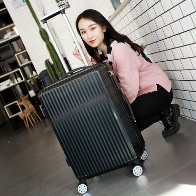 韓版行李箱男 24寸萬向輪拉桿箱女小清新20寸旅行箱包密碼箱子26皮