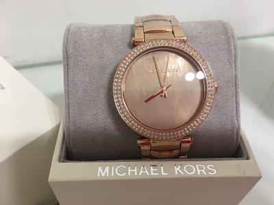 MK3246玫瑰金女用錶