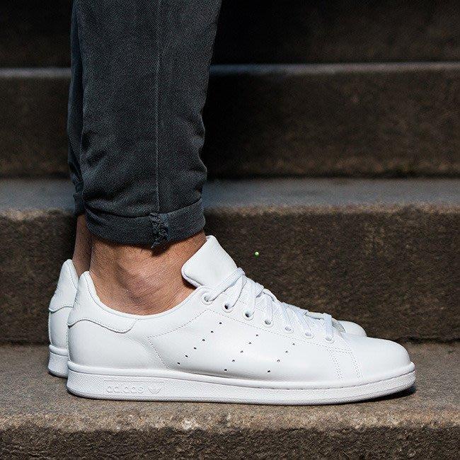 【豬豬老闆】 Adidas Originals Stan Smith 白色 全白 愛迪達 三葉草 男鞋 S75104