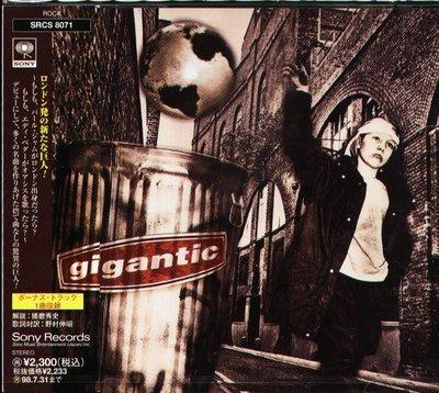 K - Gigantic - Disenchanted - 日版 +1BONUS 1996 - NEW