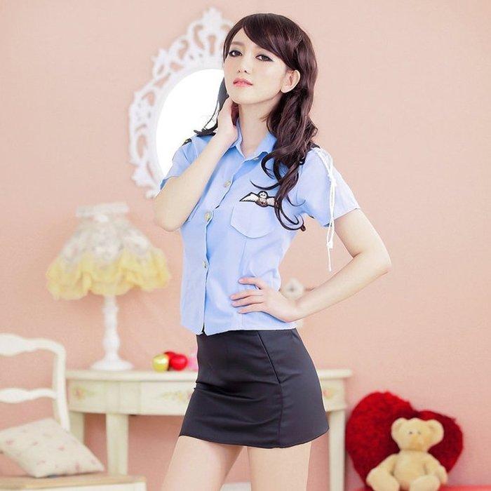 現貨/情趣內衣女極度性感空姐制服OL職業裝夜店扮演女警察包臀激情套裝91SP5RL/ 最低促銷價