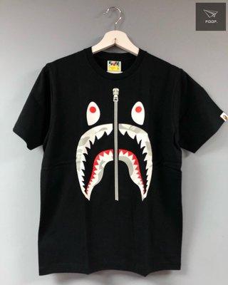 [FDOF] BAPE 黑色 夜光鯊魚短袖 日本公司貨