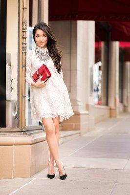 Meico Fashion 美可時尚 H&M Conscious Exclusive 頂級限量 蕾絲小禮服 洋裝 (現貨)