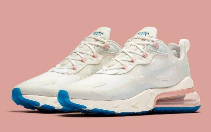 【Shopa】現貨 Nike Air Max 270 棉花糖 白 粉藍 粉紅 AT6174-100 AO4971-100