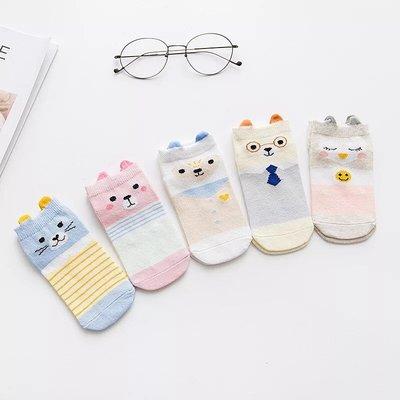 CP值超高 現貨 兒童襪子 可愛造型 穿衣服的小動物 男女皆可