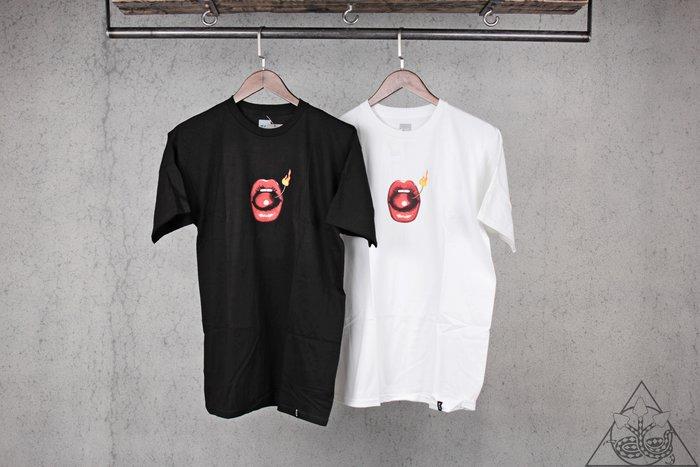【HYDRA】HUF Hot Lips T-Shirt 櫻桃 火燒 短T【TS00797】