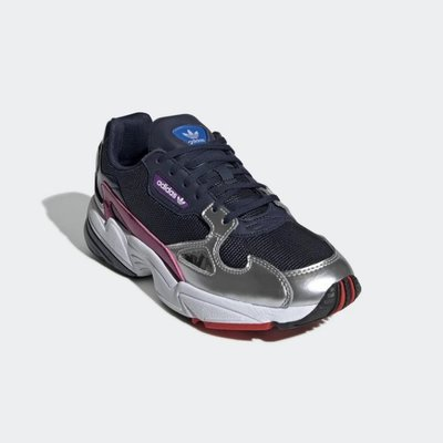 # Adidas Originals Falcon 女鞋 老爹鞋 愛迪達 米藍紅 復古 休閒 運動 CG6213 YTS
