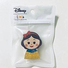迪士尼Q版 白雪公主 小木塊 ZAKKA雜貨購入/KIDEA Wooden Toy