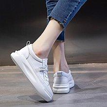 YOHO 真皮小白鞋 (LQML816) 小編自留款超軟Q真皮厚底小白鞋 休閑鞋 35-40