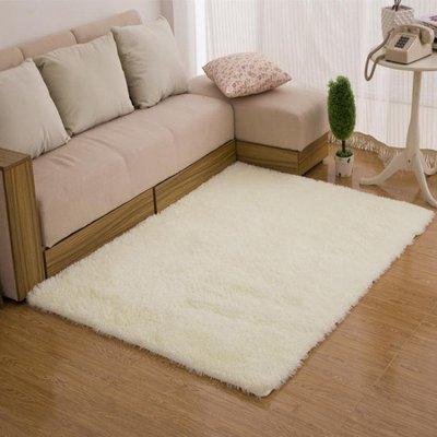 簡約現代可機洗毛地毯客廳茶幾飄窗臥室床邊毯榻榻米地墊滿鋪Y-優思思