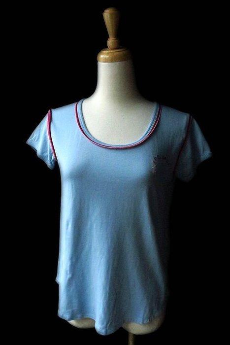 *Beauty*MARC JACOBS水藍色短袖T恤XS號2500元